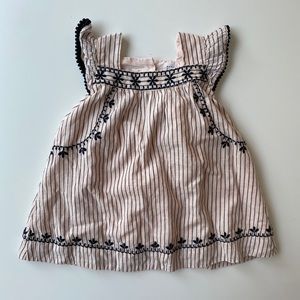 Baby Gap | embroidered stripe dress